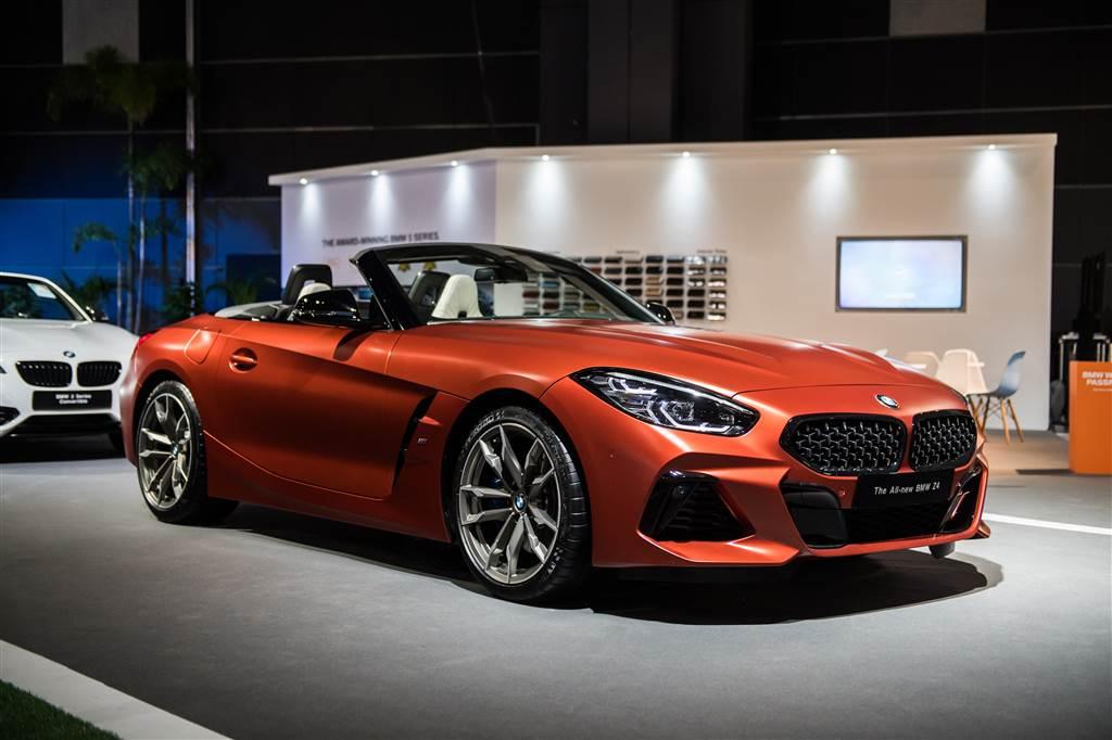 Giới thiệu BMW Z4 phiên bản đầu tiên.