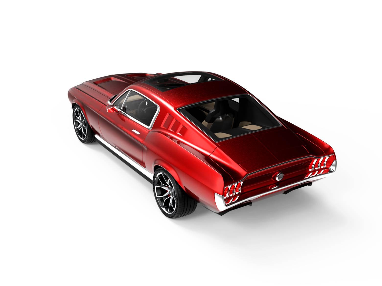 Mustang điện (1)
