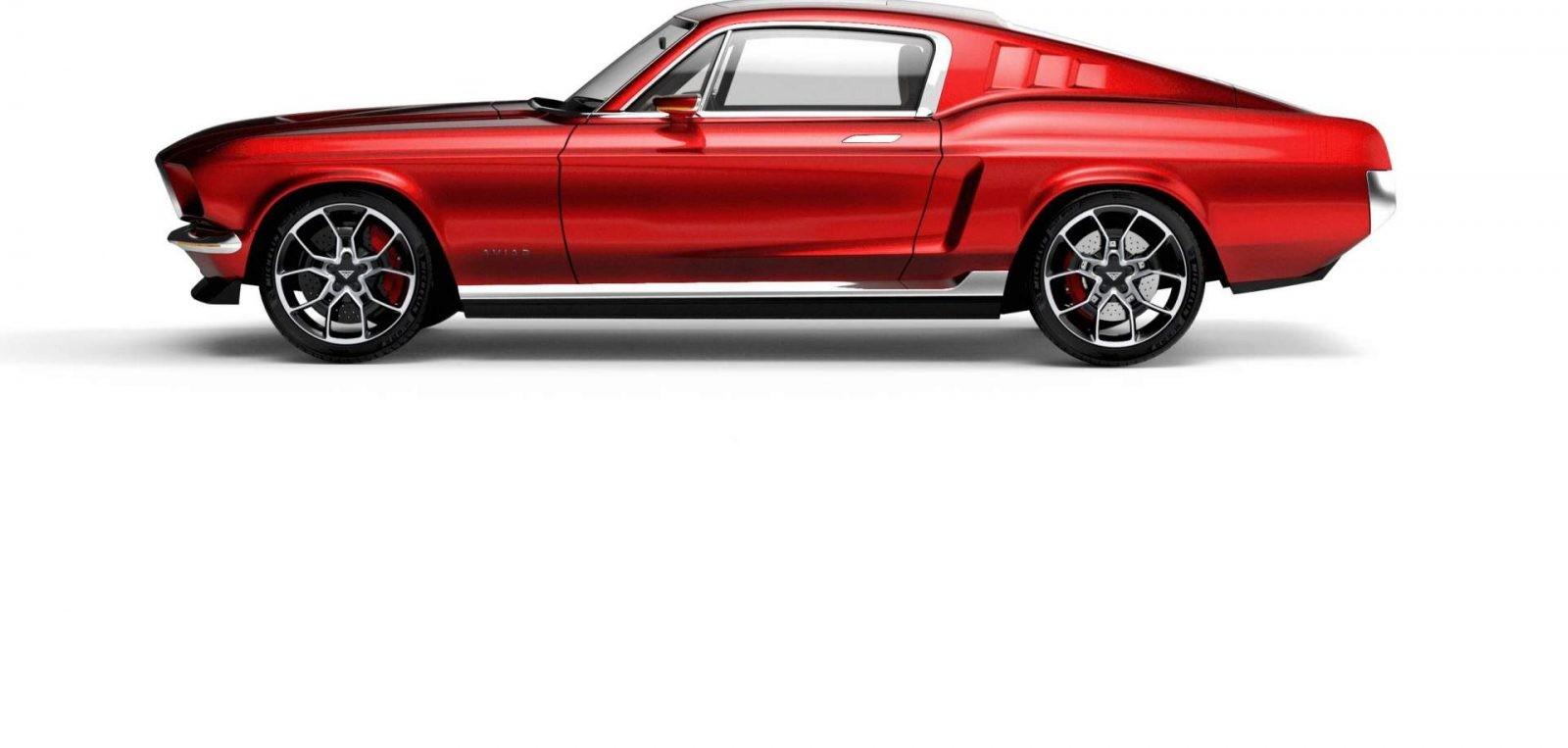 Ford Mustang điện (1)