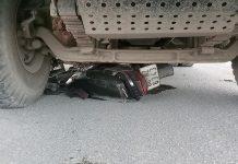 xe cán chết