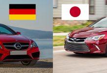 Xe Nhật Xe Đức