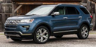 Ford Explorer khí thải
