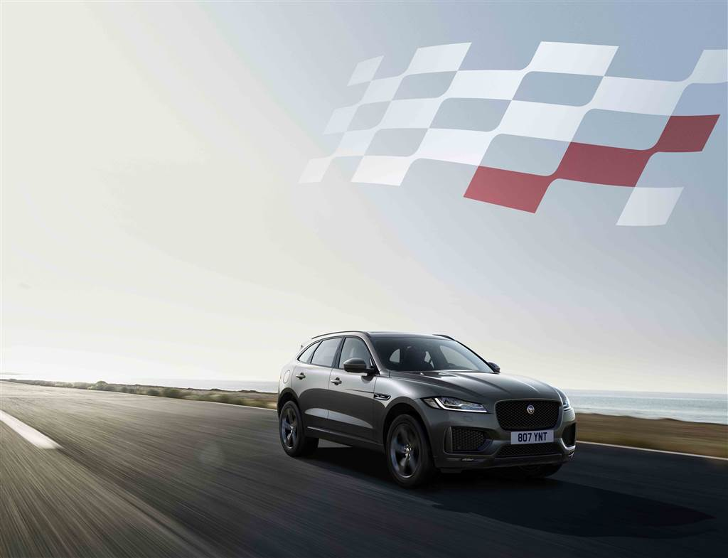F-Pace Chequered Flag