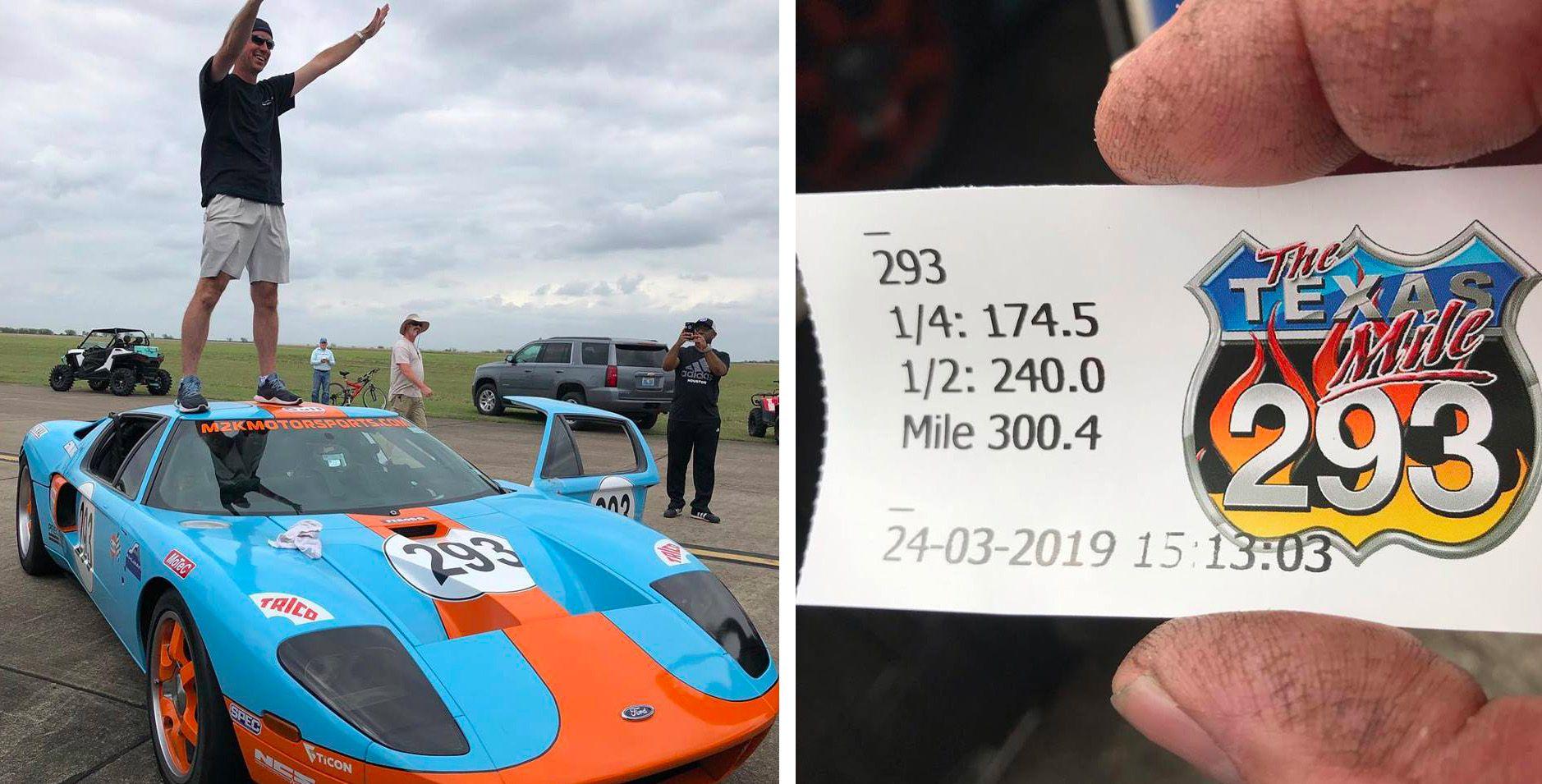Kỷ lục tốc độ Ford GT