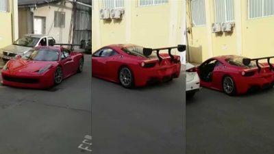 Ferrari gây tây nạn