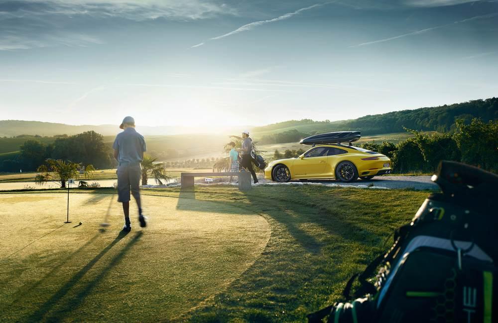 Porsche tài trợ giải golf