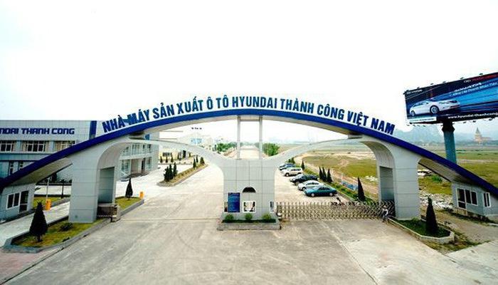 nhà máy Hyundai Thành Công