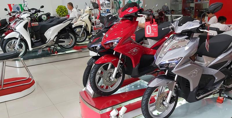 Tiêu thụ xe máy