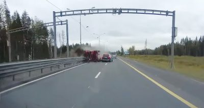 Lật xe tải