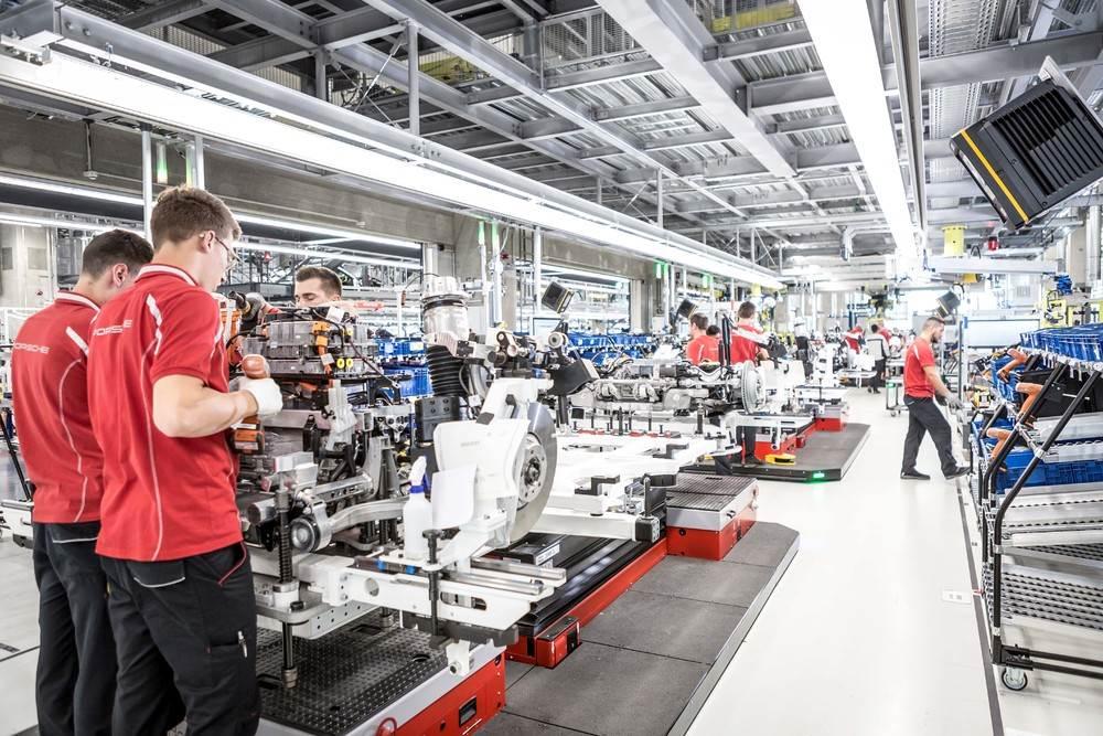 Nhà máy sản xuất Porsche Taycan