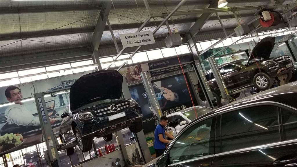 Bảo dưỡng Mercedes-Benz T11