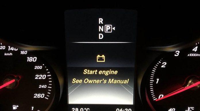 Thống báo lỗi trên xe Mercedes