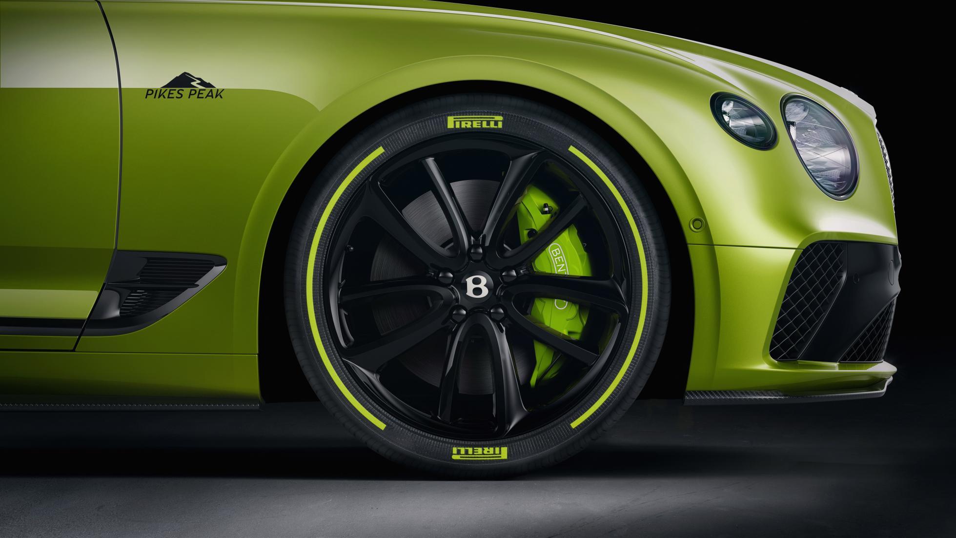 Bentley Pikes Peak Conti GT