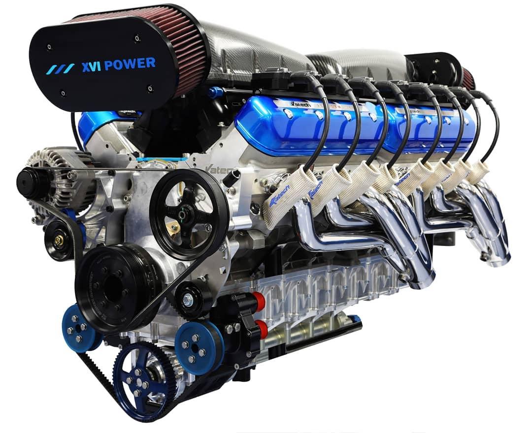 Động cơ V16 14 lít