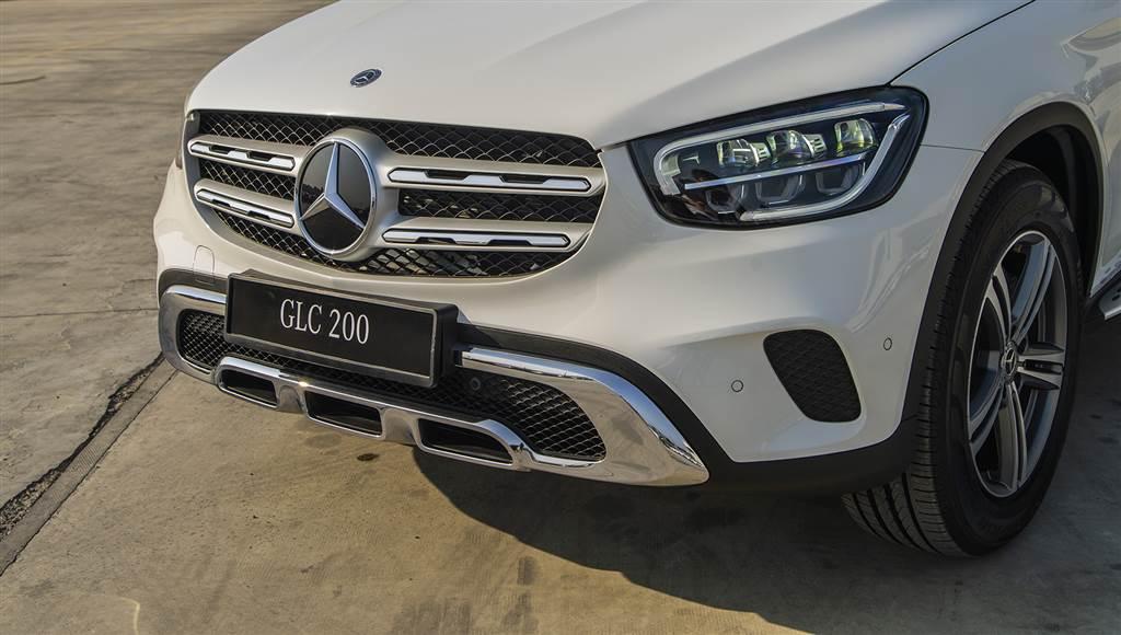 GLC 200 nâng cấp