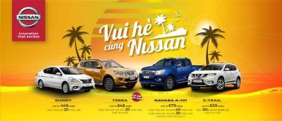 Nissan khuyến mãi tháng 5