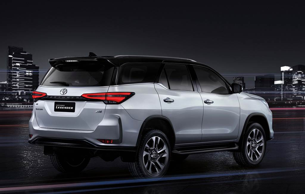 Toyota Fortuner facelift 2020