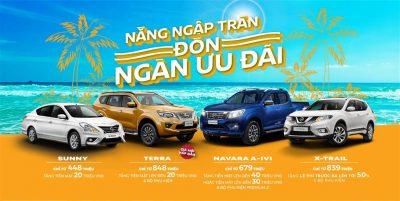 Nissan CTKM tháng 6