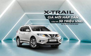 X-Trail giá mới