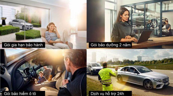 Dịch vụ hỗ trợ 24h Mercedes