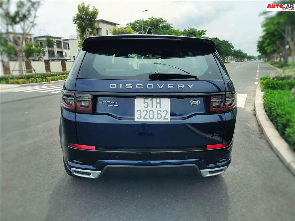 Đánh giá Discovery Sport 2020