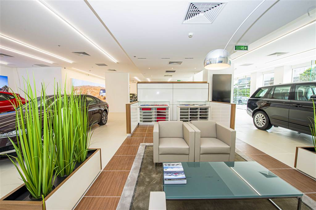 Showroom Jaguar Land Rover