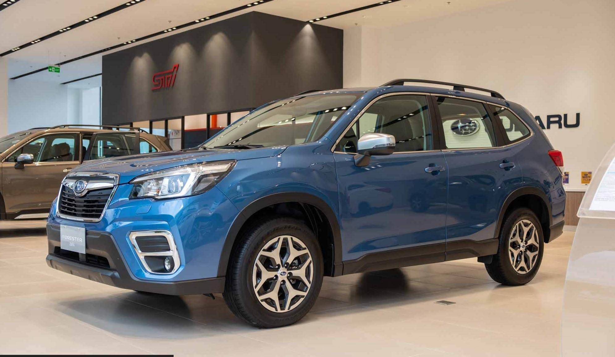 Subaru Forester lỗi kim phun