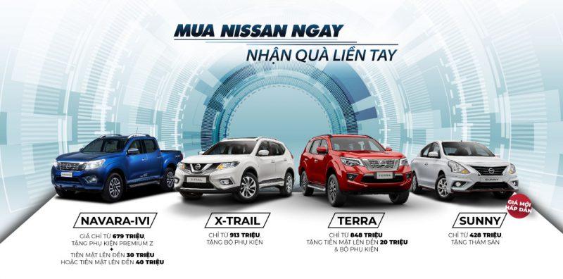Nissan khuyến mãi giá xe tháng 9