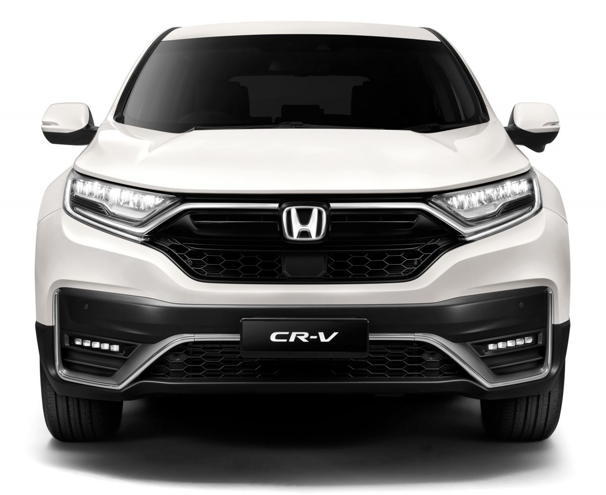 CR-V facelift