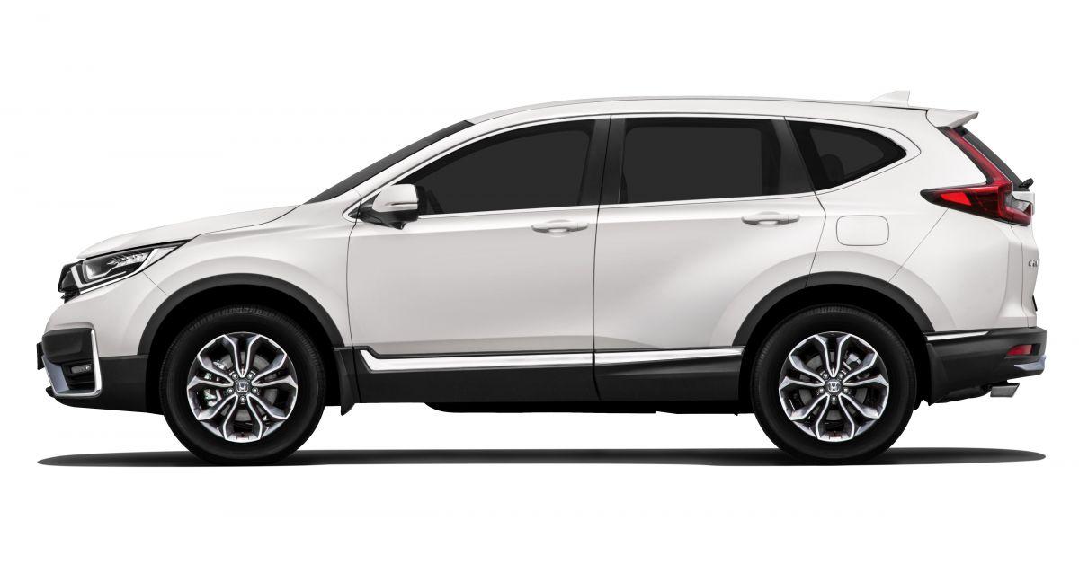 CR-V facelift
