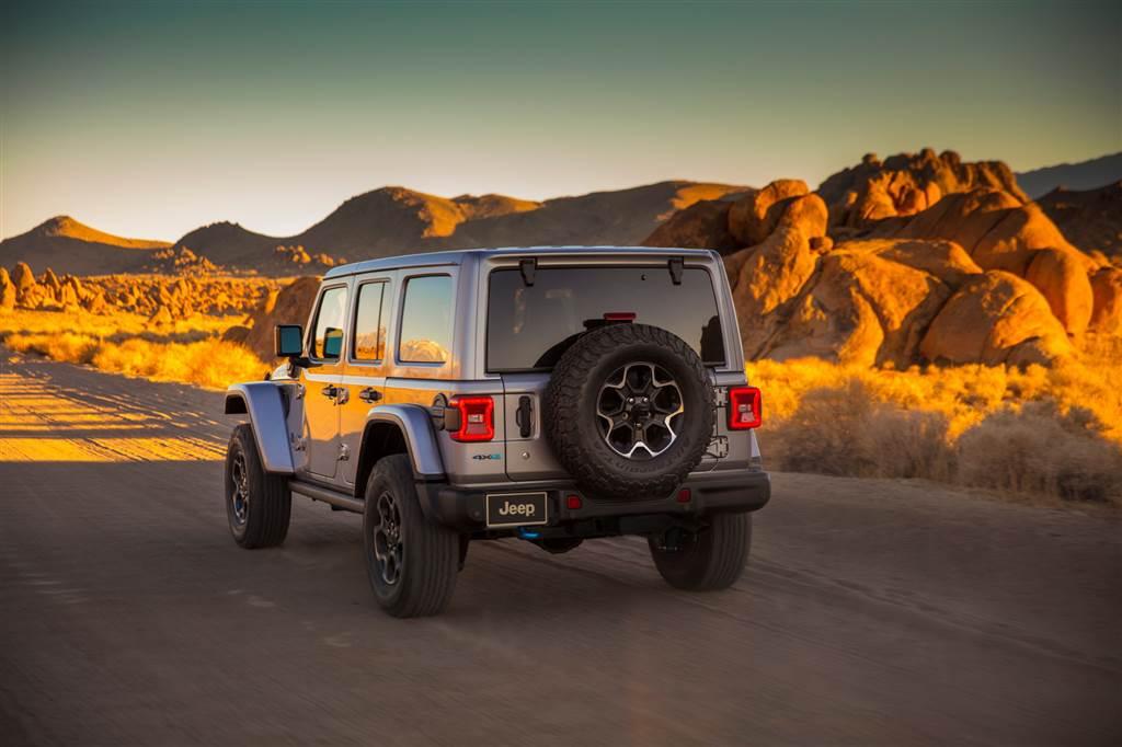 Jeep Wrangler hybrid plug-in