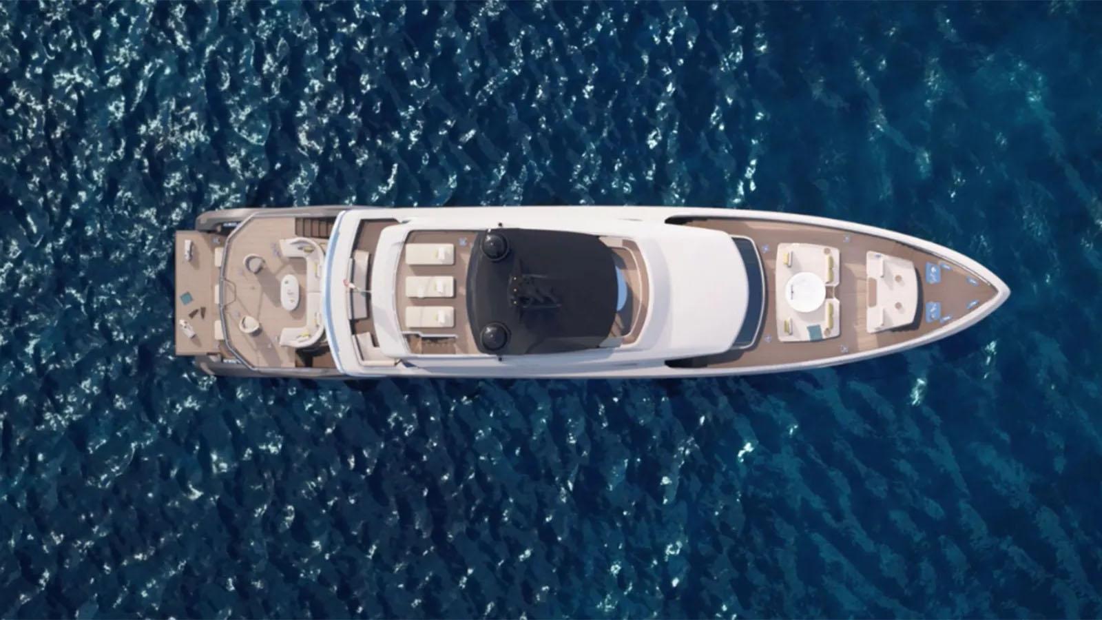Du thuyền Azimut TriDeck