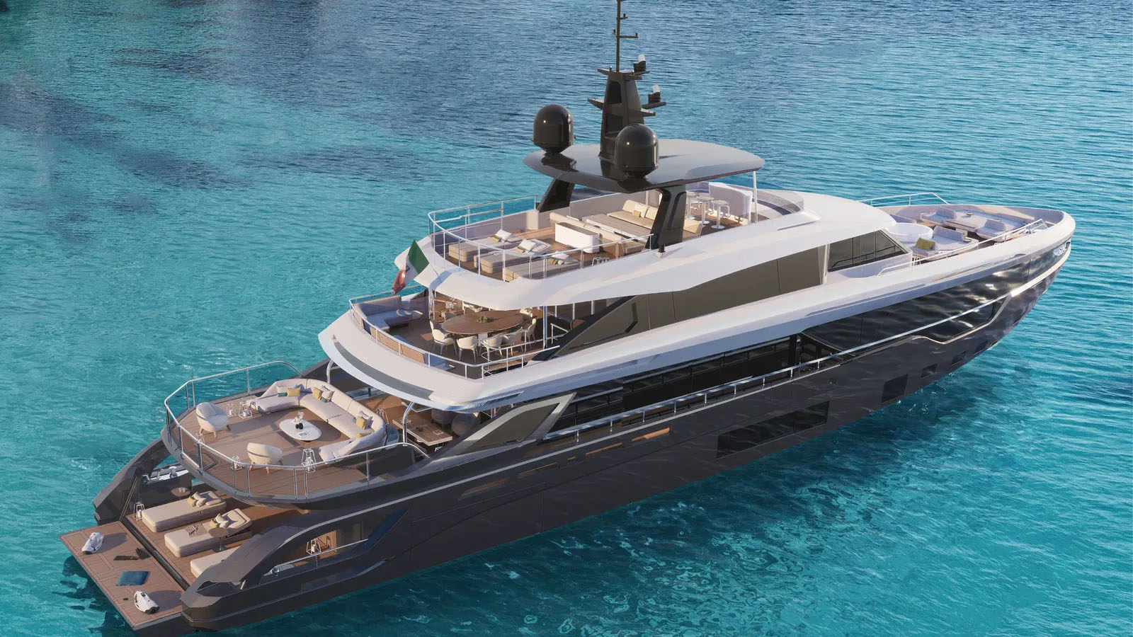Siêu du thuyền Azimut TriDeck