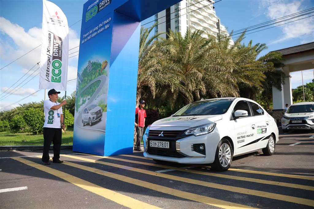 Thi tiết kiệm nhiên liệu Mitsubishi