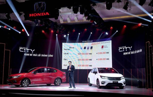 Honda City ra mắt