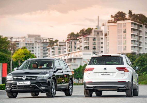 phiên bản nâng cấp Tiguan Luxury S và Elegance