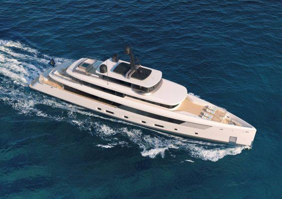 Du thuyền Vitruvius 53m