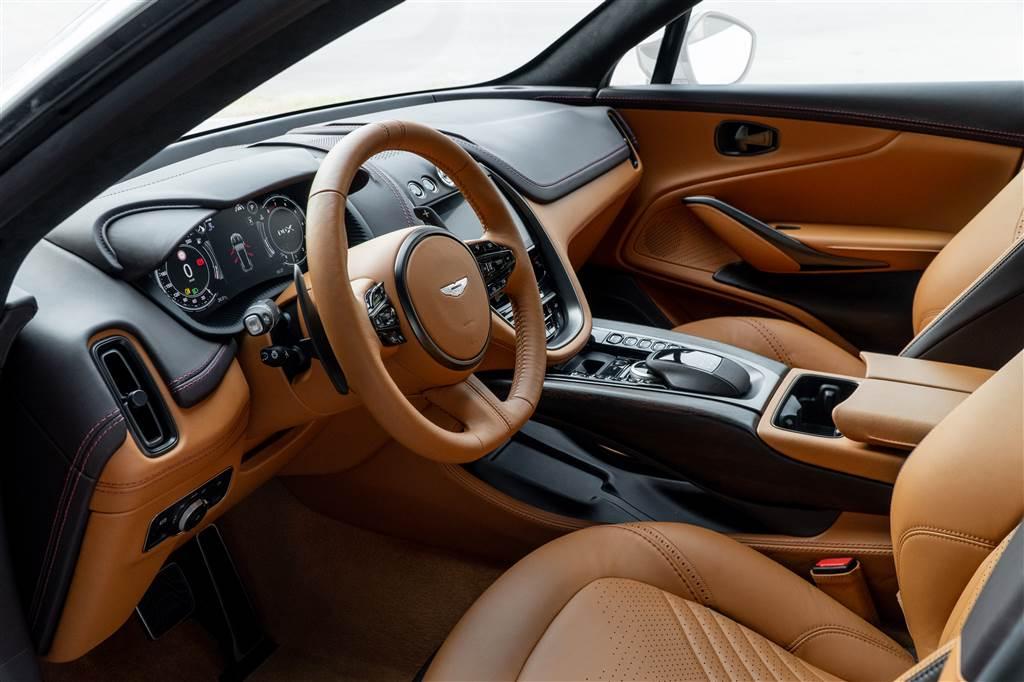 Aston Martin DBX ra mắt