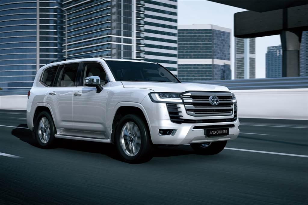 Toyota Land Cruiser mới