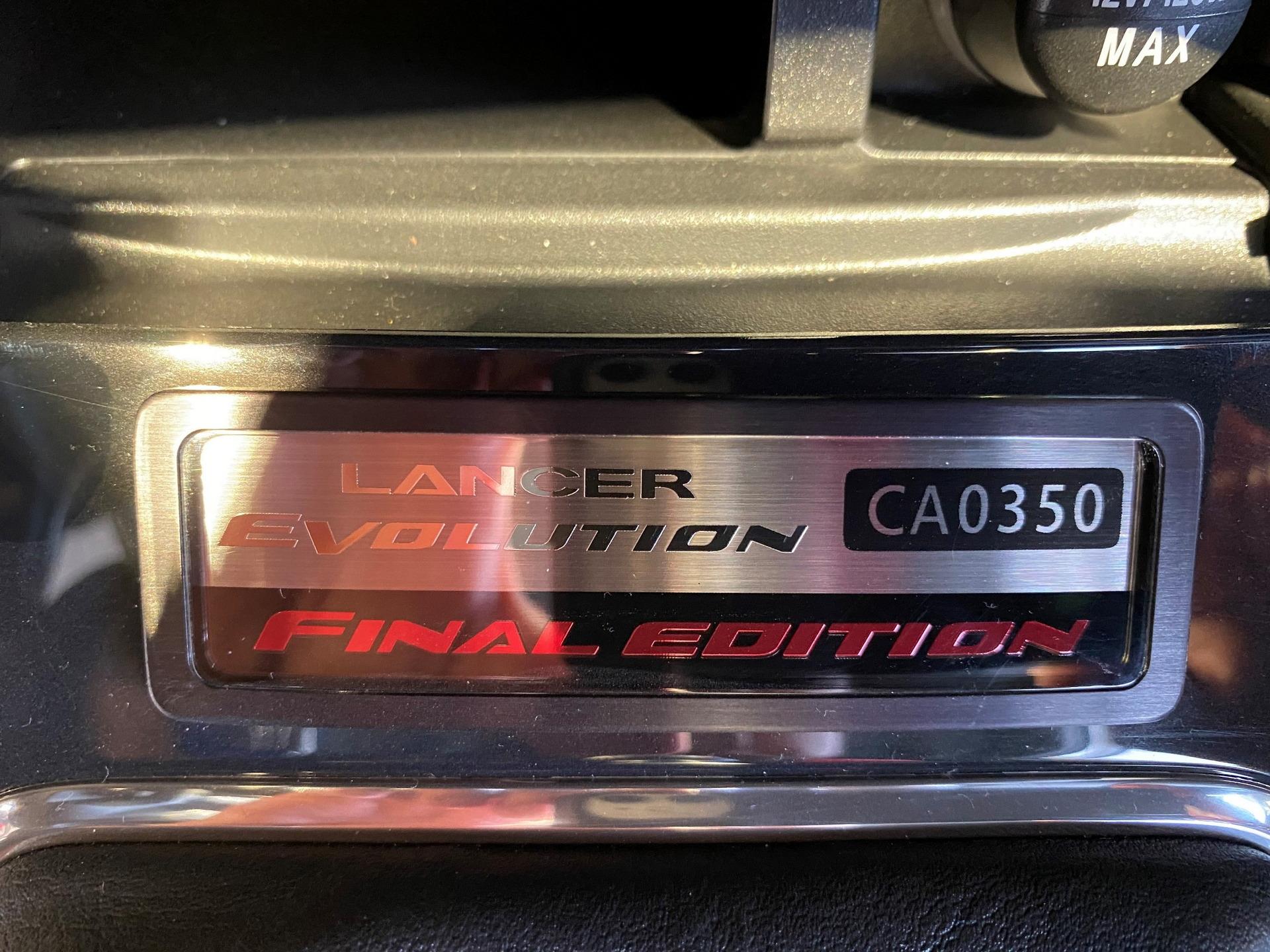 Lancer Evolution Final Edition 2015
