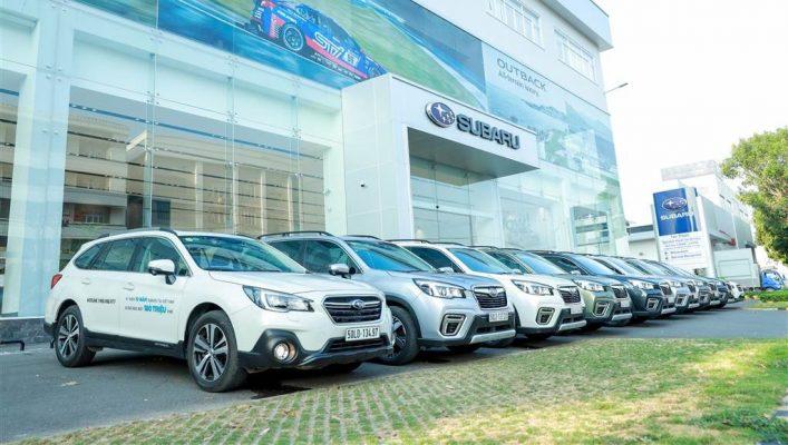 Subaru Việt Nam tặng 2 năm bảo dưỡng