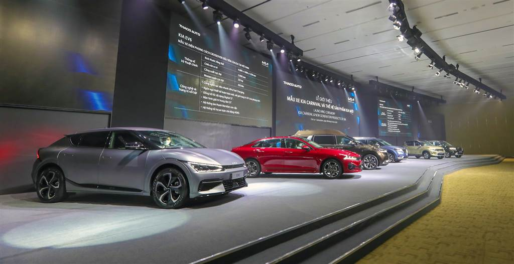 Sản phẩm xe mới Thaco